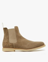 Common Projects Chelsea Boot In Taupe Suede