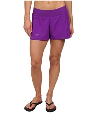 Arc'teryx Lyra Short Violette Women's Shorts Purple