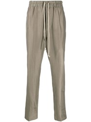 Rick Owens Astaire High Rise Slim Fit Track Pants 60