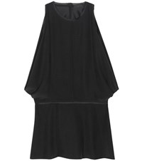 The Row Sleeveless Silk Top Black