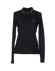 Fred Perry Topwear T Shirts Women Lead