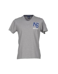North Sails T Shirts Grey
