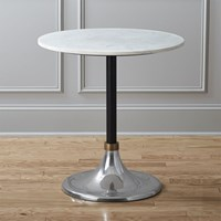 Cb2 Hackney Marble Cocktail Table