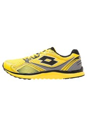 Lotto Speedride Iv Cushioned Running Shoes Yellow Black