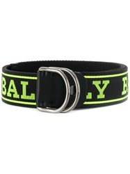 Bally Copper Belt Black