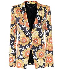 Paco Rabanne Exclusive To Mytheresa Floral Blazer Multicoloured