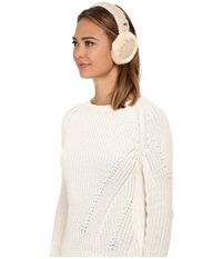 Ugg Classic Shearling Earmuff Fresh Snow Cold Weather Hats White