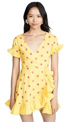 All Things Mochi Dory Dress Yellow