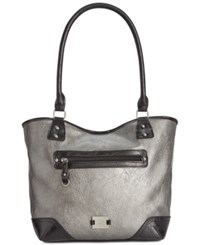 Styleandco. Style And Co. Josie Tote Pewter