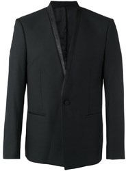 The Kooples Shawl Collar Blazer Black