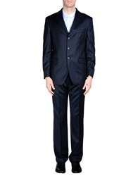 Enrico Coveri Suits Dark Blue