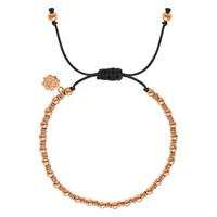 Dower And Hall 18Ct Gold Vermeil Misanga Bracelet Rose Gold