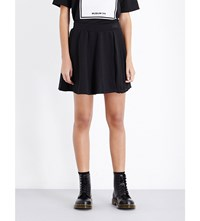 Musium A Line Pleated Jersey Skirt Black Combo Only