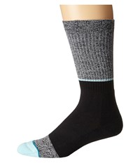 Stance Solomon Aqua Men's Crew Cut Socks Shoes Blue