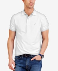 Nautica Short Sleeve Performance Deck Polo Bright White