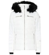 Fusalp Izia Fur Trimmed Ski Jacket White