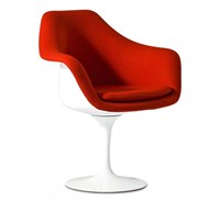 Knoll Tulip Armchair Upholstered
