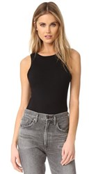 Free People She's A Babe Bodysuit Black