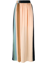 Antonia Zander Liliana Maxi Skirt Blue