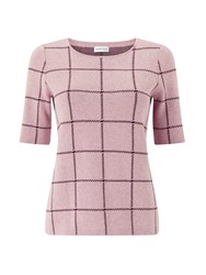 Eastex Check Knitted Jumper Multi Coloured