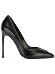 Tom Ford Zip Trim Pumps Black