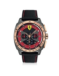 Ferrari Aero Evo Stainless Steel Case And Black Nylon Strap Men's Watch Multicolor