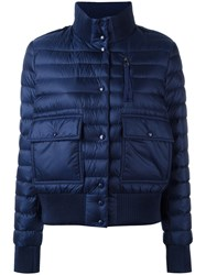 Moncler Classic Puffer Jacket Blue