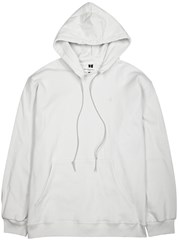 Mr. Completely Off White Hooded Cotton Sweatshirt Cream
