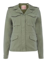 Levi's Surplis Military Style Jacket Khaki
