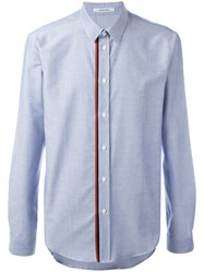 Carven Placket Detailing Shirt Blue