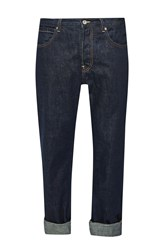 French Connection Men's Co Power Rigid Regular Jeans Denim Rinse