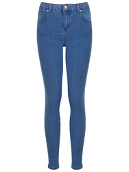 Miss Selfridge Steffi Pretty Jeans Mid Wash