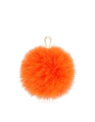 Furla Bubble Fur Pom Pom Key Ring