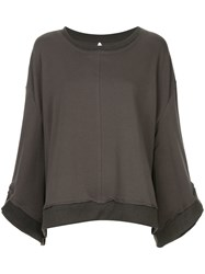 Taylor Settlement Sweatshirt Grey
