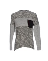 X Cape Sweatshirts Grey