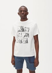 J.W.Anderson Jw Anderson 'S Durer Pillows T Shirt In Off White Size Small 100 Cotton