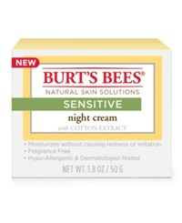 Burt's Bees Sensitive Night Cream 1.8 Oz