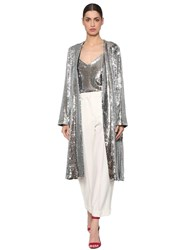 Racil Sequined Jacket Silver