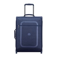 Delsey Dauphine 3 Slim 2 Wheel Trolley Case 55Cm Navy Blue