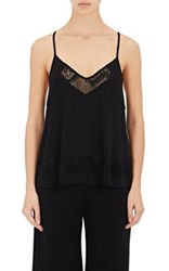 Skin Women's Lace Inset Jersey Cami Black