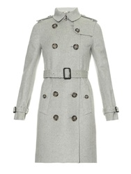 Burberry Kensington Baby Cashmere Trench Coat