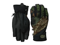 686 Icon Pipe Glove Army Cubist Camo Extreme Cold Weather Gloves Black
