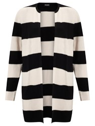 Gerry Weber Striped Cardigan Black Peach