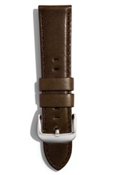 Women's Shinola 20Mm Latigo Leather Watch Strap