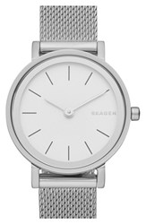Women's Skagen 'Hald' Mesh Strap Watch 26Mm
