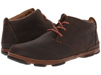 Olukai Kamuela Dark Wood Toffee Men's Flat Shoes Brown