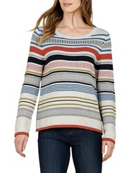 Seasalt Bosvigo Stripe Jumper Metro Multi