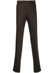 Pt01 Classic Tailored Chinos Brown