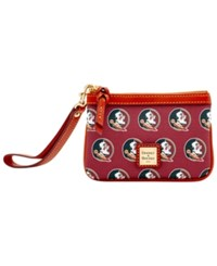 Dooney And Bourke Florida State Seminoles Exclusive Wristlet Maroon