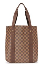 Wgaca Louis Vuitton Damier Ebene Beaubourg Cabas Tote Previously Owned